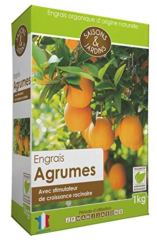 R'Garden | Engrais Organique Agrumes | Engrais Ecologique | Fertilisant Naturel | Nourrit en Profondeur | Facile d'Utilisation | 1KG