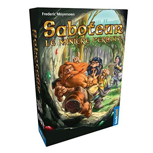 Giochi Uniti- Saboteur: Le MINIERE PERDUTE Gioco della Linea, Multicolore, 1