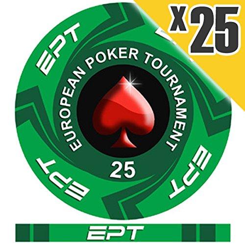 Fichas Poker Ceramica Ept Marca European Poker Tour - PokerManiaShop