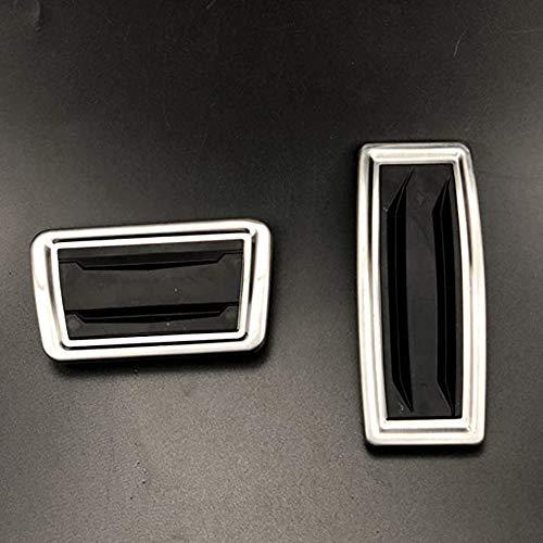 WXQYR 2pcs / Set Automóvil Metal Antideslizante Pie Car Gas Freno Cubierta del Pedal del Freno Pedal del Acelerador Pedal Kit de Accesorios para Cadillac XT5 2017 2018