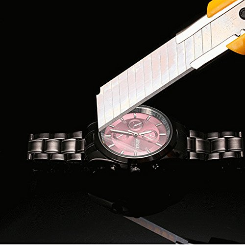 『ZDTech 腕時計 クロノグラフ デイト クォーツムーブメント 海外モデル メンズ ウォッチ (ブラック)』の1枚目の画像
