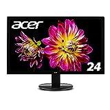 Acer ディスプレイ モニター K242HLbmidx 24インチ/HDMI端子付き/スピーカー内蔵/フリッカーフリー