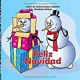 Feliz Navidad - Libro de colorear para adultos - Mandalas felices (Navidad y año nuevo)