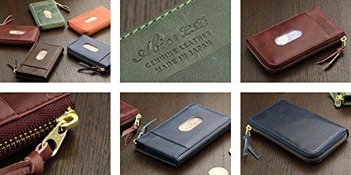 ABIESL.P.(アビエス)『ヴィンテージワックスレザーパスケース兼用カードケース』