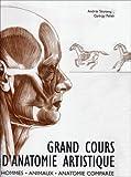 Grand Cours d'Anatomie Artistique - Hommes, Animaux, anatomie comparée