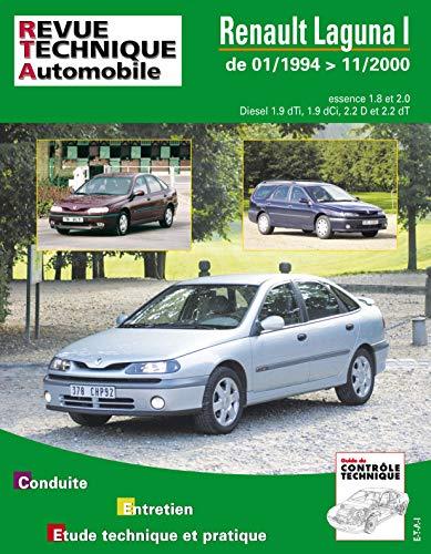 E.T.A.I - Revue Technique Automobile 123 - RENAULT LAGUNA I - 1994 à 2000
