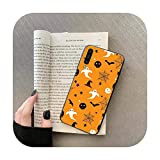 Scary Citrouille Halloween Coque pour Samsung Galaxy A 3 6 7 8 10 20 30 40 50 70 71 10S 20S 30S 50S...