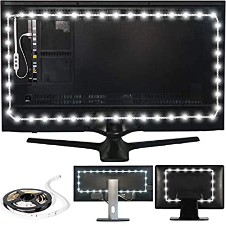 These Specifically Made LED Lights For Behind TV Comes In 3 Different Lengths 39 78 And 118 Inches Depending On The Size Of Your