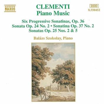CLEMENTI: 6 Progressive Piano Sonatinas, Op. 36 / Piano Sonatas