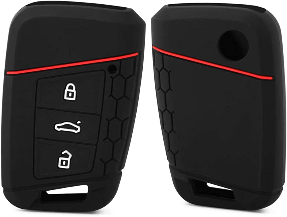 Silicone Car Key Cases for Volkwagen Passat VW Golf Wholesale B8 free shipping Jetta Gte
