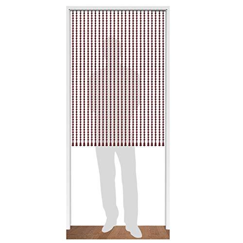 SSRS Cortinas moldeadas de Madera Maciza de la Cortina del Grano Sala Baño partición Cortina, Pulido a Mano, Vino Tinto, Personalizable Superficie Lisa perlada