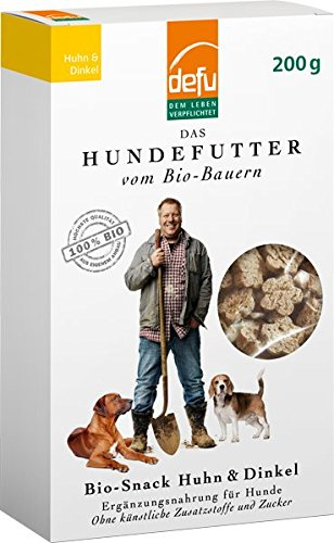 defu Hund Bio-Snack Huhn & Dinkel 6 x 200 g
