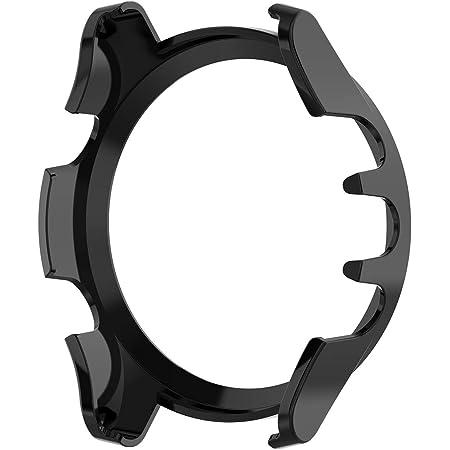 Amazon.com: AWADUO for Garmin Forerunner 945 PC Transparent Protective Case Cover, Smartwatch Protective Case Cover for Garmin Forerunner 945/935, Soft and Durable(PC Black)