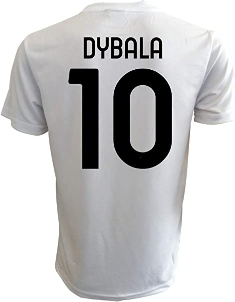 Maglia Dybala Juventus bianconera Ufficiale 2021 Paulo Juve 10 Joya 2020-2021 Adulto Ragazzo Bambino Home
