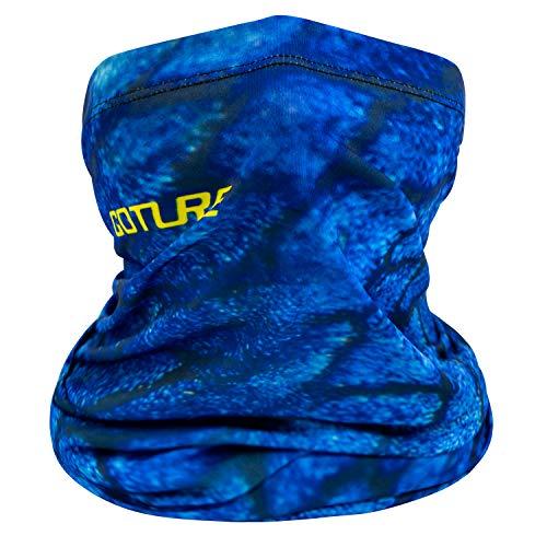 Goture フェイスカバー 冷感 吸汗速乾 釣り用 夏用/UVカット/UPF50+ 滑り止め 自転車 バイク 登山 スポーツ フリー 伸縮素材 男女兼用 12色