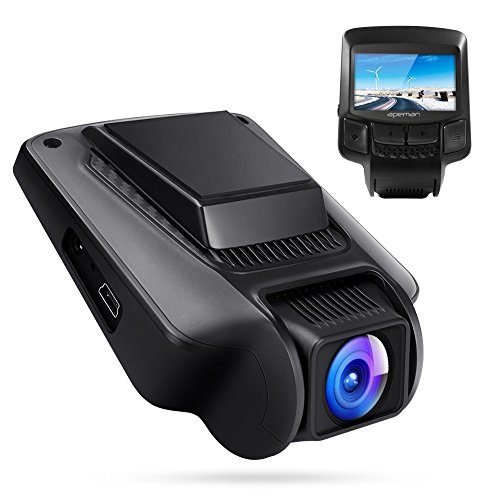 apeman Dashcam WiFi Full HD 1080P Autokamera