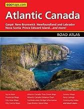 Atlantic Canada Road Atlas by Canadian Cartographics (2012) Perfect Paperback