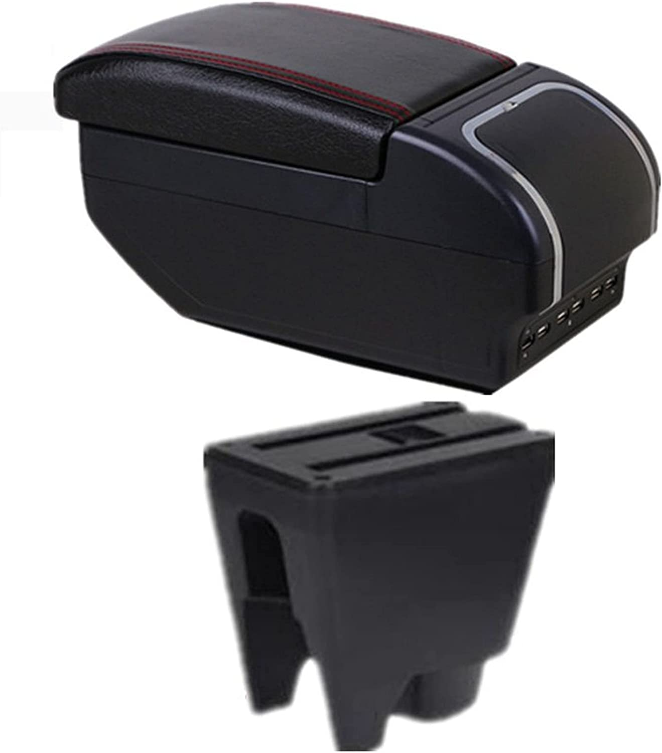 for T-oyota Latest item Aygo Bj Armrest quality assurance Box Heighten Central Conte Store