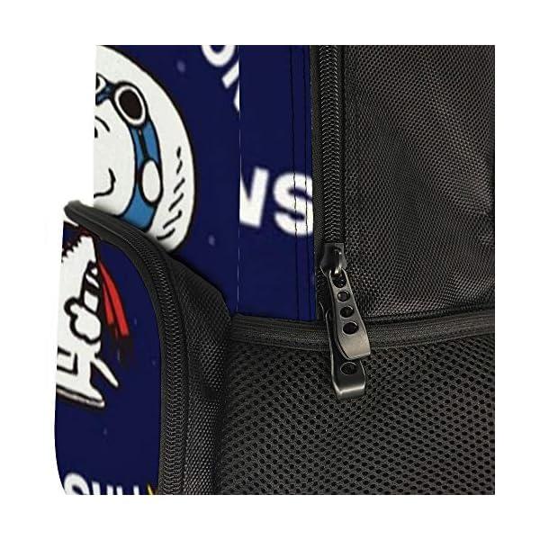 51GyExkaB4L. SS600  - Astronaut Snoopy mochila escolar bolsa de viaje bolsa de negocios mochila para hombres mujeres adolescentes escuela…