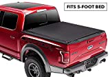 Rugged Liner Premium Rollup Truck Bed Tonneau Cover | RC-T505 | fits 05-15 Toyota Tacoma Double Cab (with utility track), 5' bed