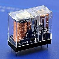 Electronics-Salon 2個5アンペアDPDTパワーリレーG2R-2 12V DC