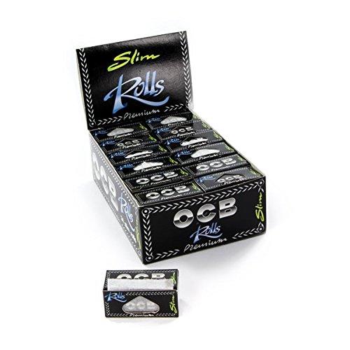 Feuille à Rouler OCB - Lot de 20 rouleaux ROLLS SLIM PREMIUM Cigarette