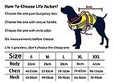 Dog Helios Verstellbare, reflektierende Hundeweste mit Rettungshandgriff, Outdoor, Schnellverschluss, einfache Passform, hohe Schwimmfähigkeit, Hundeschutz - 5