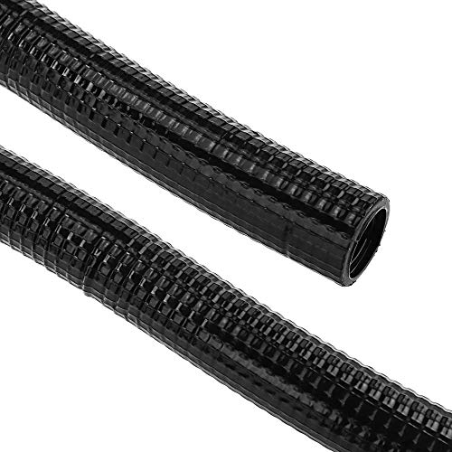 BeMatik - Tubo Corrugado Reforzado PVC M-25 75 m Negro