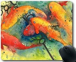 Alfombrilla de ratón, Tema de diseño de pez de la colchoneta de ratón de Personalidad Completa