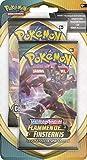 Pokémon Épée et bouclier Ténèbres embrasées Blister avec 2 boosters de cartes...