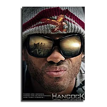 HXX Hancock Movie Canvas Art Poster and Wall Art Picture Print Modern Family Bedroom Decor Posters 12×18inch 30×45cm