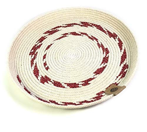 Home Decor - Round Braided Decorative and Tray Functional Sale SALE% OFF Rope Recommended