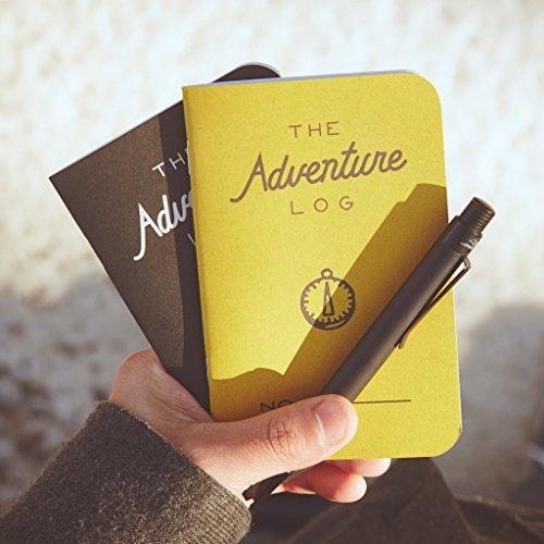 Word Notebooks Adventure Log - Black 3-Pack - Traveler's Notebook