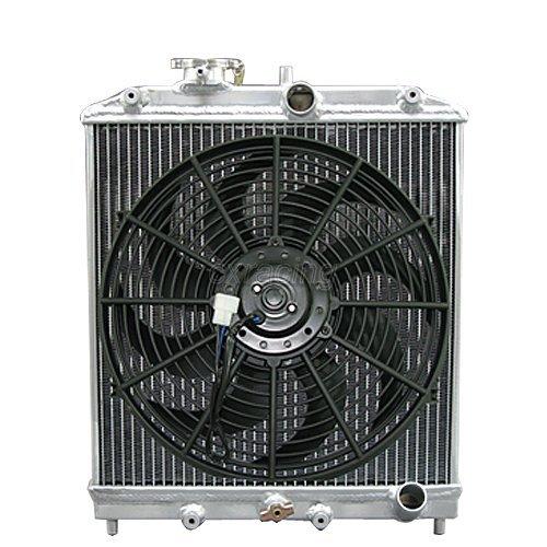 honda 3 row aluminum radiator - 7