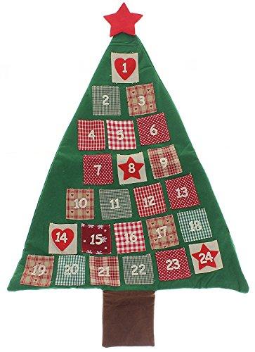MIK funshopping adventskalender van vilt kerstboom