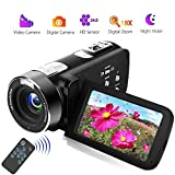 Videocamera Videocamere Full HD 18X Digital Zoom Night Vision Videocamere with LCD and 270 Degree...