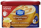 Maxwell House International Coffee Vanilla Caramel Latte, 8.7-Ounce Cans (Pack of 6)