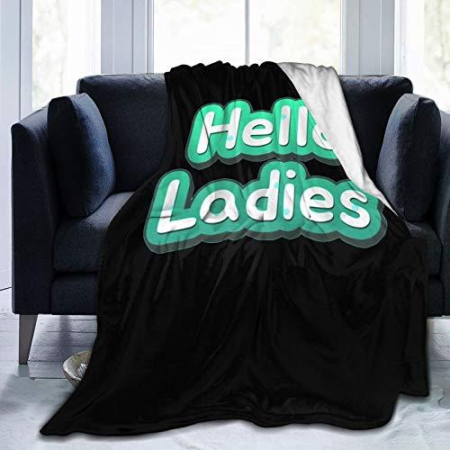 Zhangzx Hola - Manta de forro polar para mujer, muy suave, hipoalergénica, felpa, para sala de estar, dormitorio, regalos