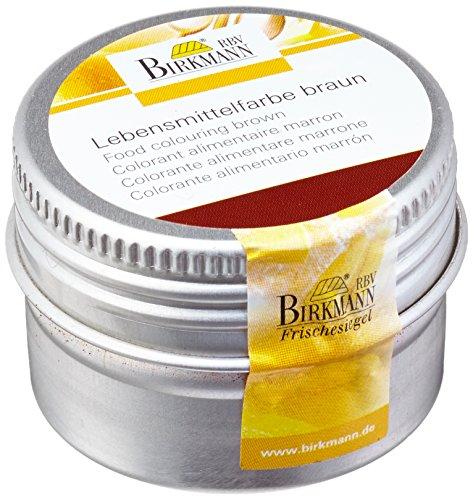 Birkmann 503069 Lebensmittelfarbe, konzentriertes Pulver, braun