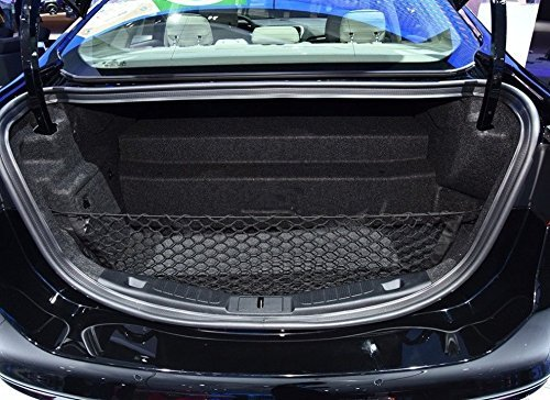 JessicaAlba Envelope Style Trunk Cargo Net for Ford Fusion 2013 14 15 2016 2017...