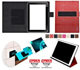 Hülle für Hewlett Packard ElitePad 1000 G2 Tasche Cover Hülle Bumper   in Rot Leder   Testsieger