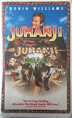 Jumanji con pegatinas [VHS]