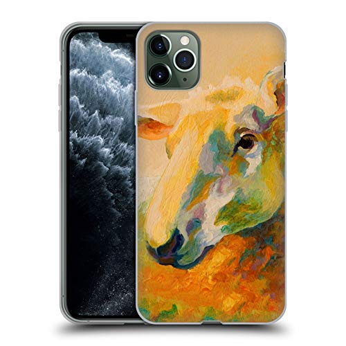 Head Case Designs Oficial Marion Rose Estudio Ewe 3 Ovejas Carcasa de Gel de Silicona Compatible con Apple iPhone 11 Pro MAX