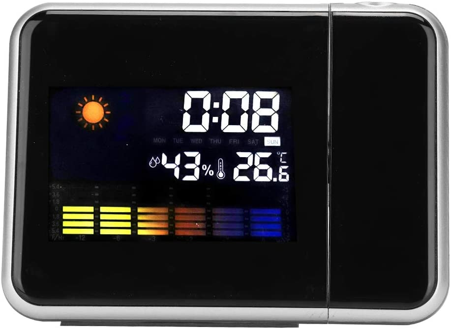 LED Projection Same day shipping Clock Digital Forecast Weather Alarm Statio Special Campaign