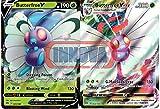 Pokemon Vmax Set - Butterfree V 1/189 & Butterfree Vmax 2/189 - Darkness Ablaze - 2 Ultra Rare Card Lot