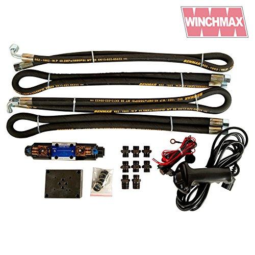Winchmax Hydraulische Winden-Installationsset, Ventilschläuche, Steuergetriebe