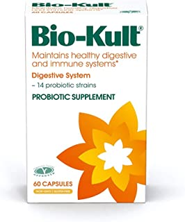 Bio-Kult Advanced 14 Strain Probiotic Supplement - Probiotics for Maintaining Healthy Digestive and Immune Systems – Pack of 60 Capsules