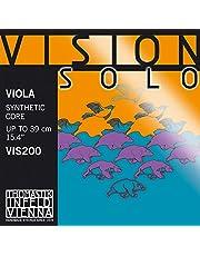 Thomastik Cuerdas para Viola Vision Solo Synthetic Core juego 4/4 mediana