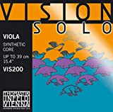 Thomastik Corde per Viola Vision Solo nucleo sintetico Set 4/4 media...