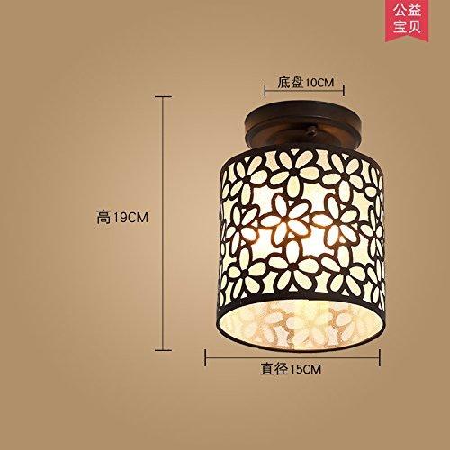 Kang @ lumière de plafond led minimaliste salon continental chambre foyer balcon couloir lampes de tête Phillips)
